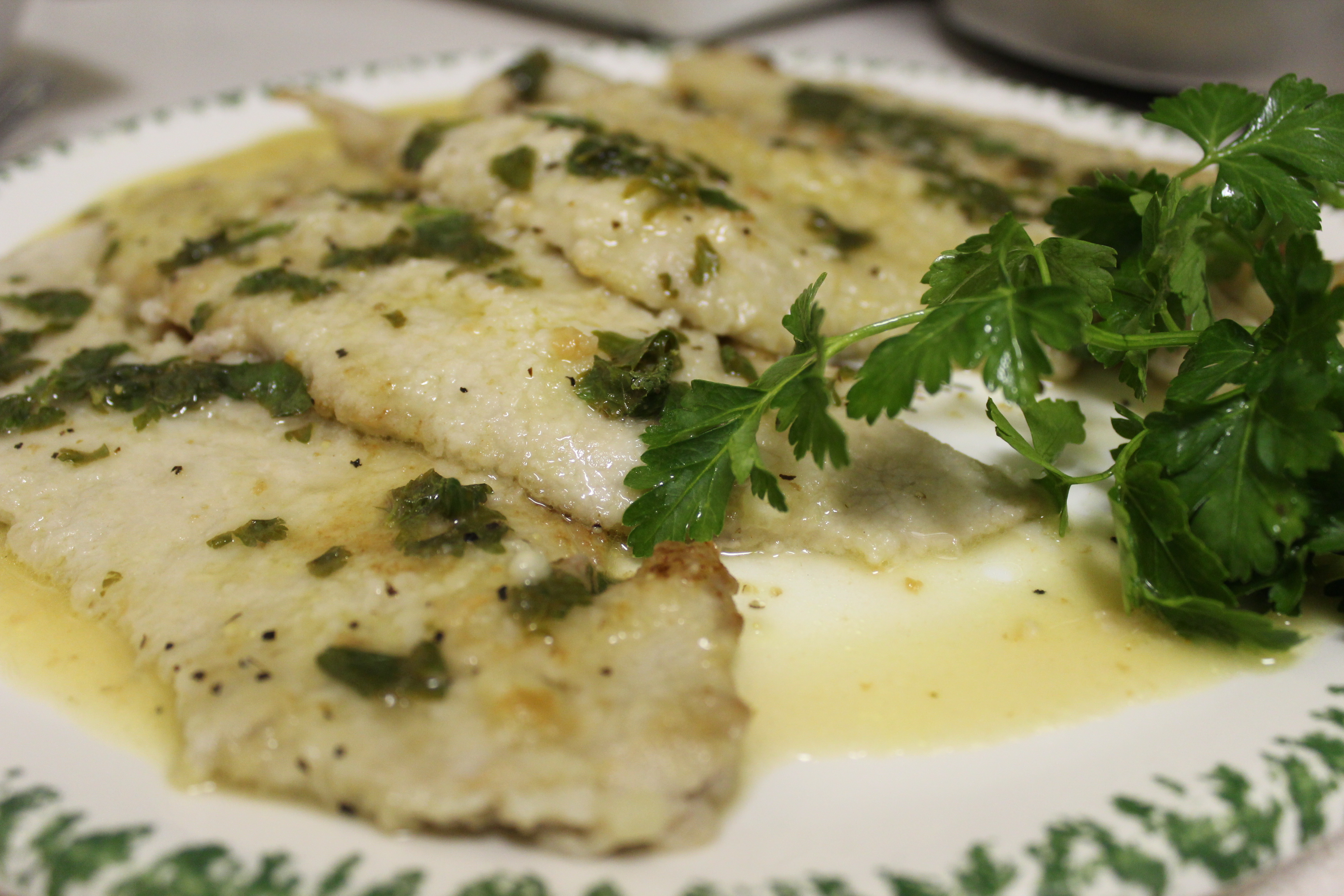 veal scaloppine with lemon maxime iattoni veal piccata tender veal ...